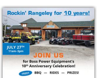 Boss Power Equipment Poster